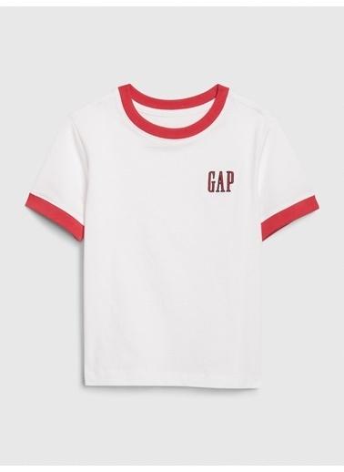 Gap Gap Logo Kısa Kollu T-shirt Beyaz
